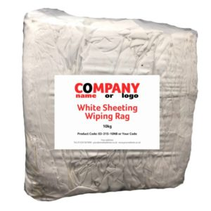 Fantastic White Sheeting Wiping Rag Image